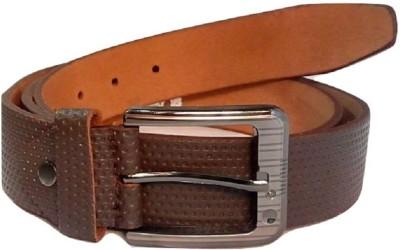 Coblivi Men Party, Formal Brown Genuine Leather Belt