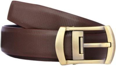 Ruchiworld Men, Boys Brown Genuine Leather Belt