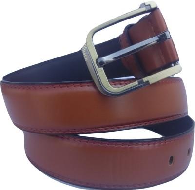 Bluck Men, Boys Brown Genuine Leather Belt