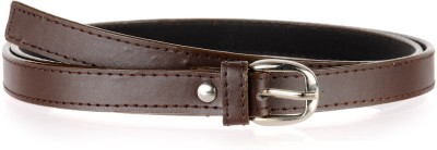 Allura Women Evening/Party, Casual, Semi-formal Brown Synthetic Belt