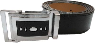 Mode Boys, Men Black Genuine Leather Belt