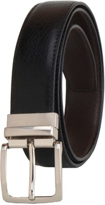 Fast Fox Men Casual Brown Synthetic Reversible Belt