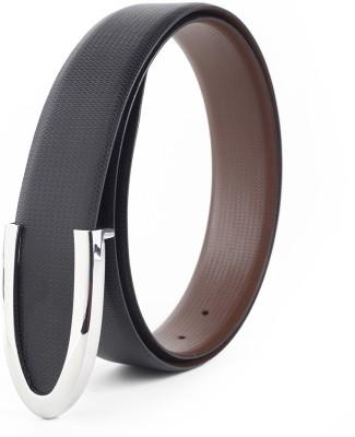 Chisel Men Formal Black Genuine Leather Belt