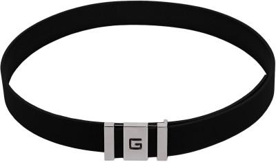 Stylehoops Men Formal Black Artificial Leather Belt
