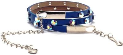 TGF Girls, Women Blue Synthetic Belt