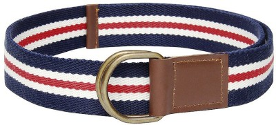 Frow Boys, Girls Casual Blue, White, Red Fabric Belt