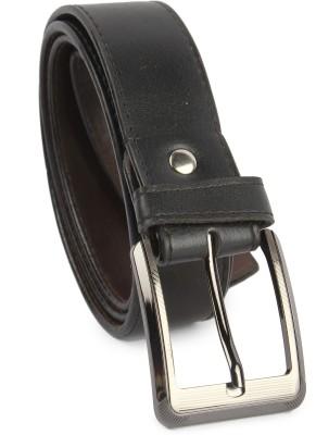 Zymour Men Black Fabric Belt
