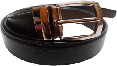 Exclusive Luks Men Casual Brown Artificial Leather Reversible Belt