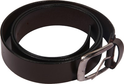 Bharat Fashion Boys, Men Formal Black Genuine Leather Belt