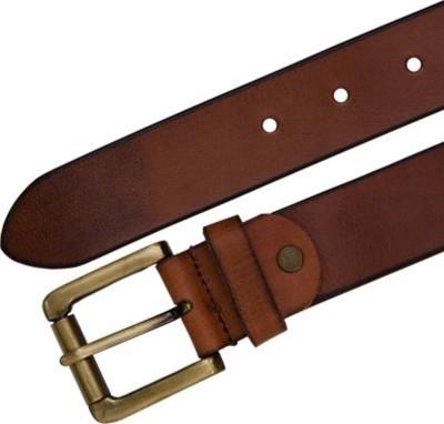 JK Import Boys Brown Genuine Leather Belt
