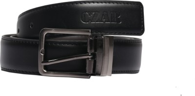 Magson Men, Boys Casual, Evening, Formal, Party Black, Brown Artificial Leather Reversible Belt