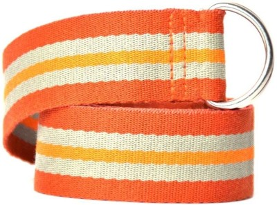 Anekaant Girls Casual Orange Fabric Belt