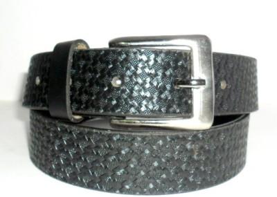 hevan Girls Black Genuine Leather Belt
