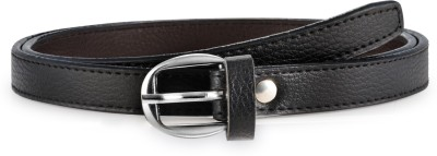 Arum Women Black Genuine Leather Belt
