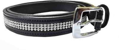 Sterling Germany Women, Girls Casual, Evening, Party Black Genuine Leather Belt