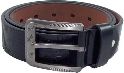 Els Men Black Synthetic Belt