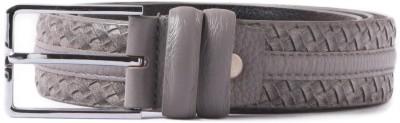 Heaven Deal Men Casual Grey Artificial Leather Belt