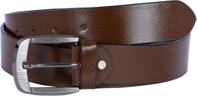 Hardys Men Brown Genuine Leather Belt