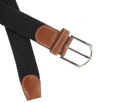 Ruvee Boys, Men, Girls, Women Black Fabric Belt