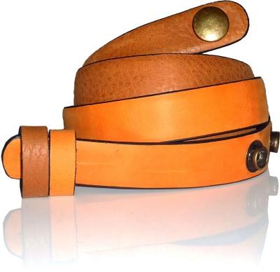 Dhruva Women Casual Tan Genuine Leather Belt