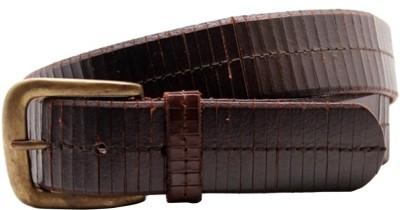 LaPalma Boys, Girls Casual Brown Genuine Leather Belt