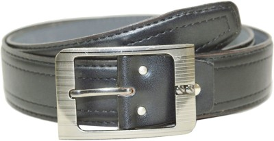 Opaque Men Formal Black Artificial Leather Belt