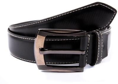BROUNPLUS Boys, Men Casual Black Artificial Leather Belt