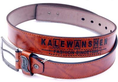 Fusion Kalewensen Men Tan Artificial Leather Belt