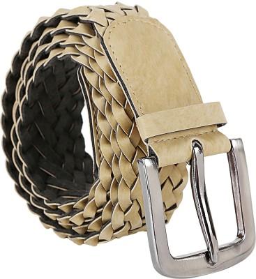 Jainsons Women Casual Beige Artificial Leather Belt