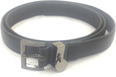 Sir Michele Women Casual Black Artificial Leather Belt