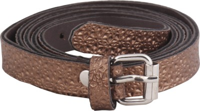 Mdr Collections Girls Casual Brown Artificial Leather Belt