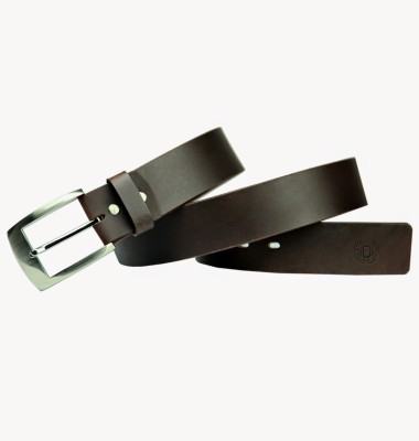 99Cells Men, Women Casual Brown Genuine Leather Belt