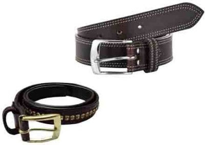 Sterling Germany Men, Women Casual Brown Genuine Leather Reversible Belt