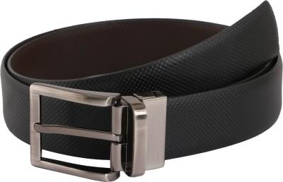Vinson Massif Men Formal, Casual, Evening Black, Brown Genuine Leather Reversible Belt