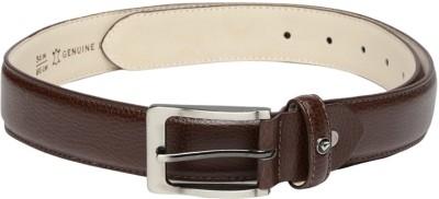 Invictus Men Brown Genuine Leather Belt