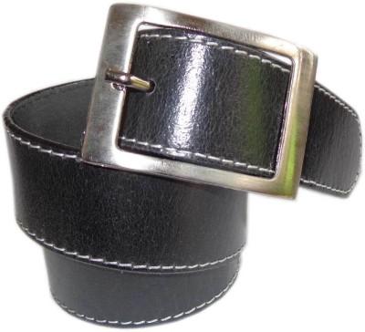 Good Life Stuff Men Formal Black Genuine Leather Belt
