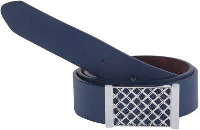 Alphaman Men Casual, Formal Blue Artificial Leather Belt