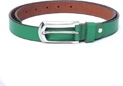 kamalgarments Men Green Artificial Leather Belt