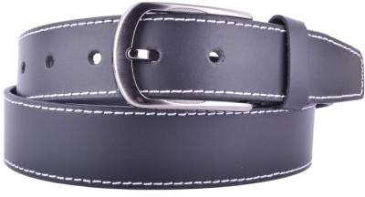 CALLESTO Men Formal Black Genuine Leather Belt