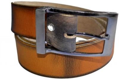Cuero Men Casual Orange Genuine Leather Belt