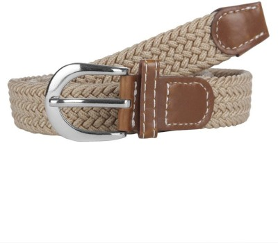 American Swan Men Casual White Synthetic Belt
