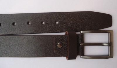 cotnis Men Brown Genuine Leather Belt