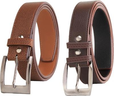 Elligator Men Casual, Formal, Party Multicolor Artificial Leather Belt