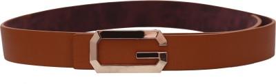 Stylehoops Boys, Men Formal Tan Artificial Leather Belt