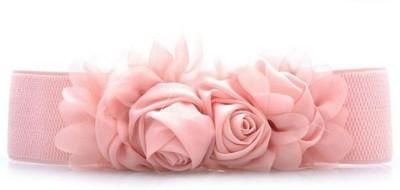 Bellazaara Girls, Women Casual, Party, Evening Pink Fabric Belt