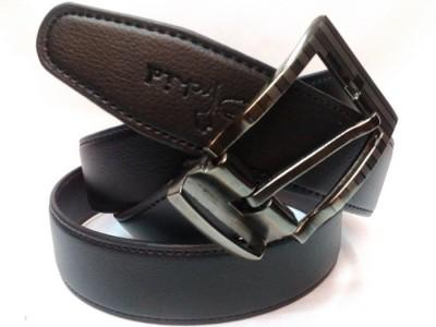 Srbelt Men Black Artificial Leather Belt
