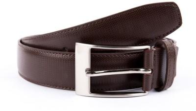 BROUNPLUS Boys, Men Formal Brown Artificial Leather Belt