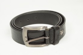Flyer Men, Boys Casual, Party, Evening Black Genuine Leather Belt