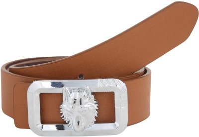 Alphaman Men Casual, Formal Brown Artificial Leather Belt