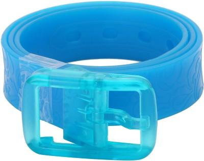 NeedyBee Girls Casual Blue Synthetic Belt
